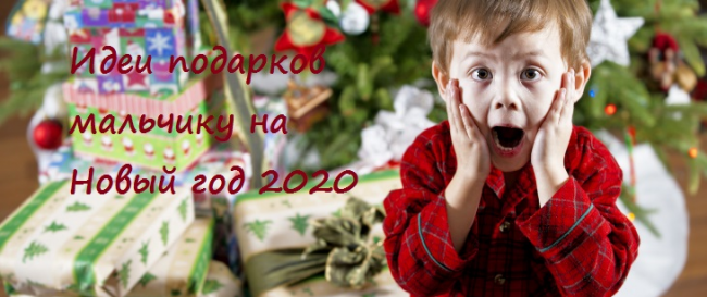 Что подарить мальчику на Новый год: идеи подарков