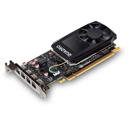 Видеокарта Dell NVIDIA Quadro P1000 4Гб