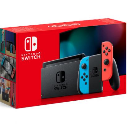 Игровая консоль Nintendo Switch красный неон