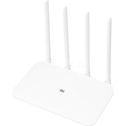 Беспроводной роутер Xiaomi Mi WiFi Router 4 White