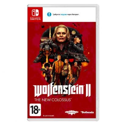 Игра для Nintendo Switch Wolfenstein II: The New Colossus
