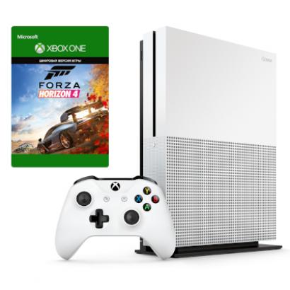 Игровая приставка Microsoft Xbox One S 1TB + Forza Horizon 4