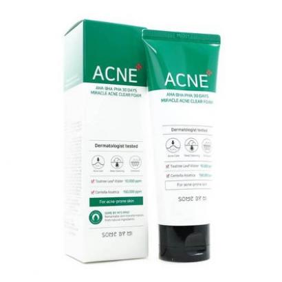 Пенка для умывания 30 Days Miracle Acne Clear Foam