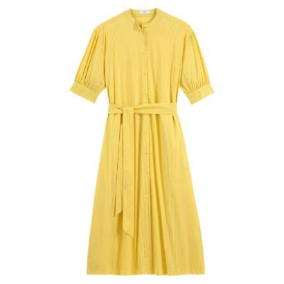 Платье-рубашка с рукавами