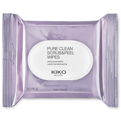 Влажные салфетки для лица Pure clean scrub&peel