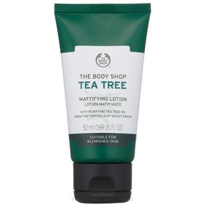 Увлажняющий и матирующий лосьон для лица «Чайное дерево»