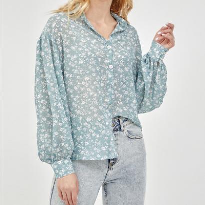 Блузка с цветочным принтом Tom Farr