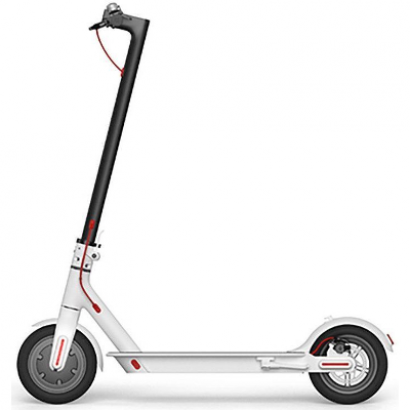 Электросамокат Xiaomi Mi Electric Scooter белый