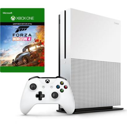 Игровая консоль Xbox One S с 1 ТБ памяти и игрой Forza Horizon 4