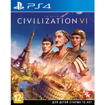 Игра для PS4 Sid Meier's Civilization VI