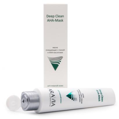 Маска для лица очищающая с глиной и АНА-кислотами