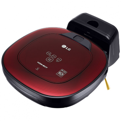 Робот-пылесос LG Hom-Bot Square VRF6570LVM Red