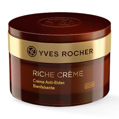 Благотворный дневной крем от морщин Riche Crème