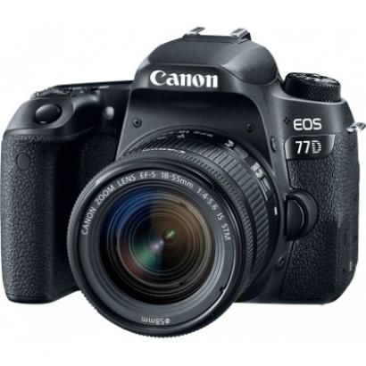 Зеркальный фотоаппарат Canon EOS 77D 18-55