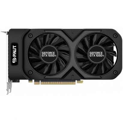 Видеокарта Palit GeForce GTX 1050 Ti Dual OC