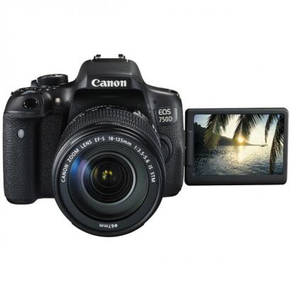 Зеркальный фотоаппарат Canon EOS 750D Kit