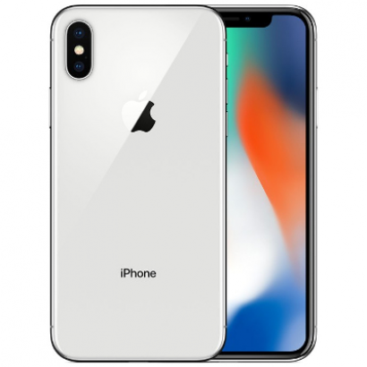 Смартфон Apple iPhone X 64GB серебристый