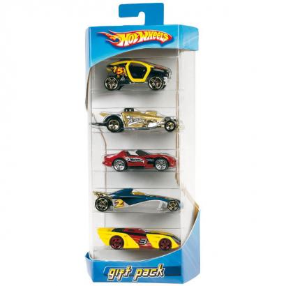 Набор Hot Wheels из 5 машинок от Mattel