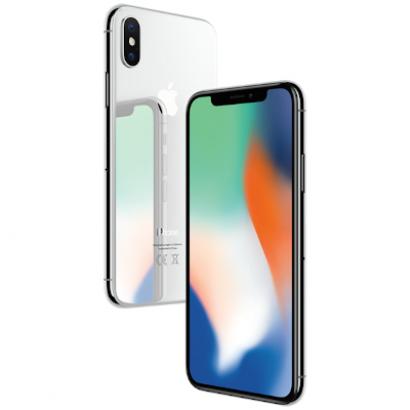 Смартфон Apple iPhone X 256GB серебристый