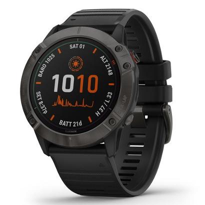 Спортивные часы Garmin fenix 6X Pro SolarTi