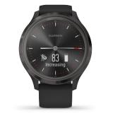 Смарт-часы Garmin vivomove 3 S/E EU Slate Black Silicone