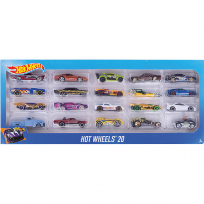 Hot Wheels базовый набор машинок