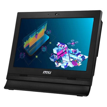 Моноблок MSI Pro 16T Black