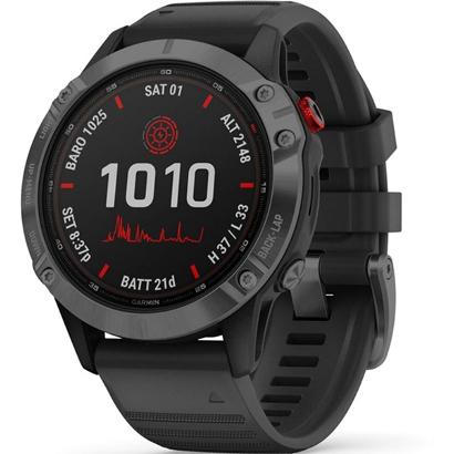Спортивные наручные часы Garmin Fenix 6 Pro Solar