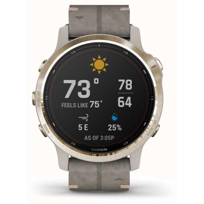 Смарт-часы Garmin Fenix 6s Pro Solar