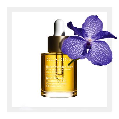 Масло для обезвоженной кожи лица Orchidée Bleue