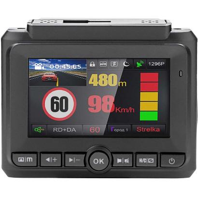 Видеорегистратор с радар-детектором Playme Alpha
