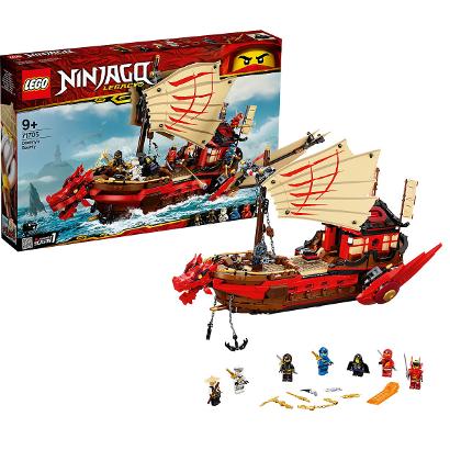 Конструктор LEGO Ninjago: Летающий корабль Мастера