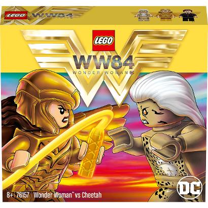 Конструктор LEGO Super Heroes: Чудо-женщина против Гепарды