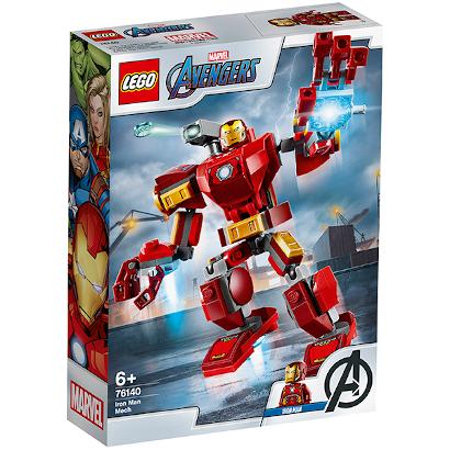 LEGO Super Heroes Железный Человек: трасформер