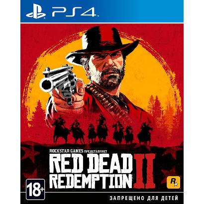 Игра Red Dead Redemption 2 для PS4