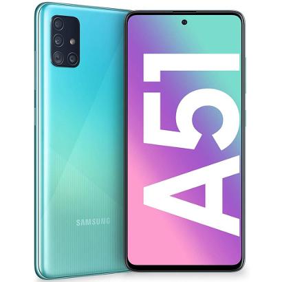 Смартфон Samsung A515 Galaxy A51 6/128Gb Blue Рассрочка 0‑0‑10