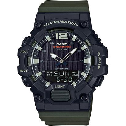 Наручные кварцевые часы Casio Illuminator Collection