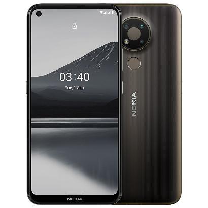 Смартфон Nokia 3.4 Black