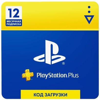 Playstation Plus: подписка на 12 месяцев