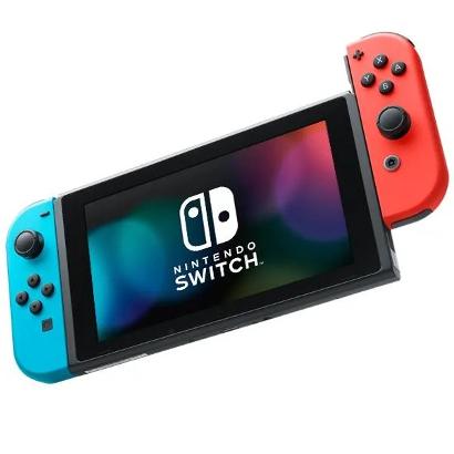 Игровая консоль Nintendo Switch неоновый