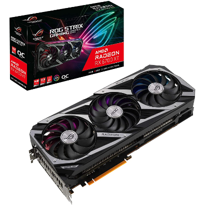 Видеокарта ASUS ROG Strix Radeon RX 6700