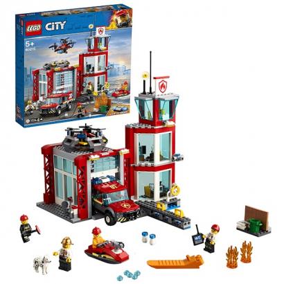Lego City: Пожарное депо