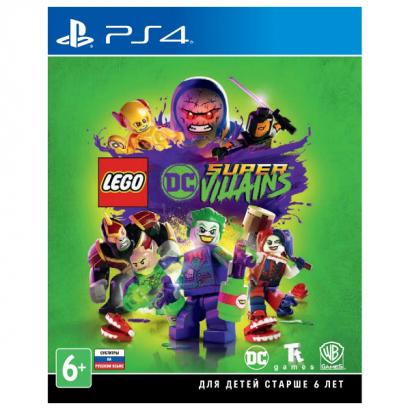 Игра Lego DC Super-Villains PS4