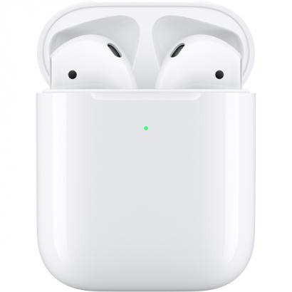 Apple AirPods (2019) в футляре с возможностью беспроводной зарядки