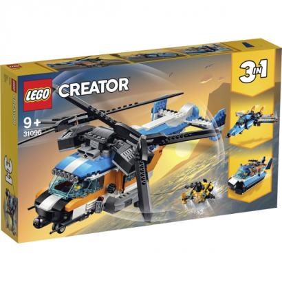 Конструктор Lego: Двухроторный вертолёт