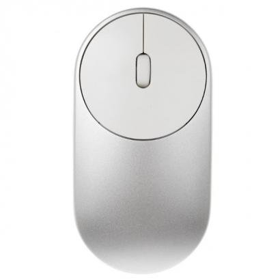 Мышь беспроводная Xiaomi Mi Portable silver