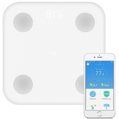 Электронные весы Xiaomi Mi Body Composition Scale 2