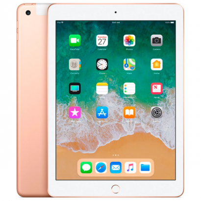 Планшет Apple iPad (2019) 128Gb Cellular gold