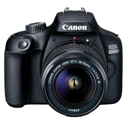 Фотоаппарат зеркальный Canon EOS 4000D Kit