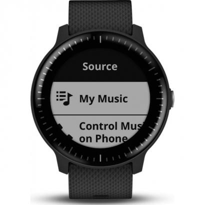 Спортивные часы Garmin Vivoactive 3 Music Black